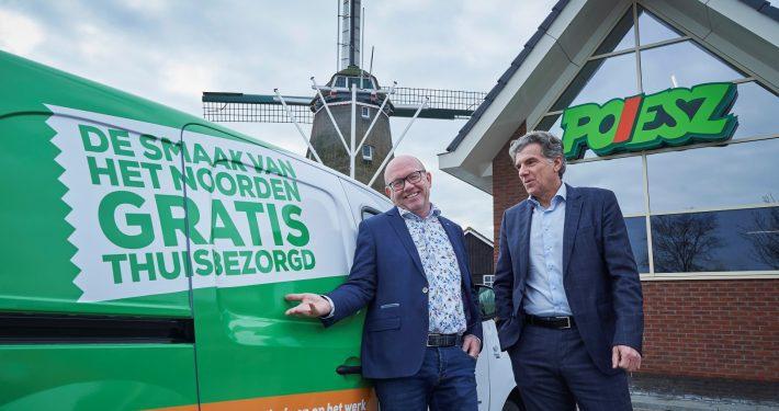 Henk Peter Jagersma (Van Smaak) en Rob Terstappen (Poiesz)