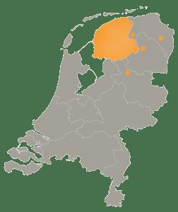 Friesland,Zevenhuizen, Assen, Nieuwe Pekela, Staphorst
