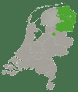 Drenthe, Groningen, Zwolle